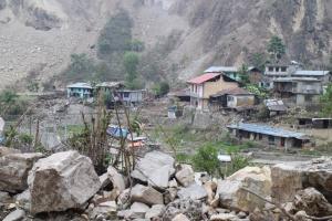 Chaku village in Sindhupalchowk